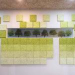 mini小磚可以自由變換顏色,隨喜好DIY拼貼上牆。