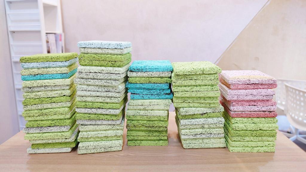 mini小磚是可重複利用的居家裝飾,CP值高。